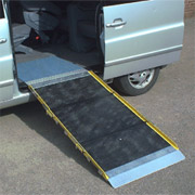 Aluminium Triple Length Fold Scooter Ramp