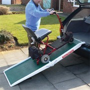 Fibreglass Length Folding Portable Ramps
