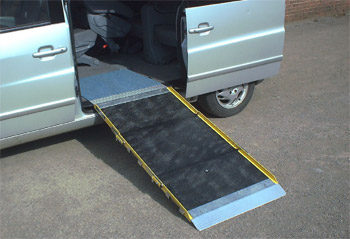 Aluminium Triple Length folding ramp
