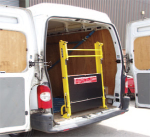 Fixed Clearview Van Loading Ramp